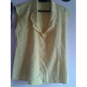 Camisa Blusa Sin Mangas