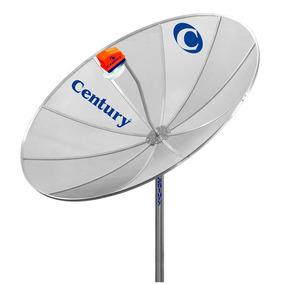 Antena Parabólica 1,70mt Com 10 Pétalas E Refletor Focal Poi