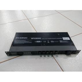 Processador Phonic Dfx 2000 Usado