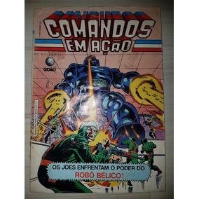 Gibi Comandos Em Ação Nº 3 Editora Globo 1987
