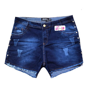 Shorts Jeans Plus Size Hot Pants Promoçao