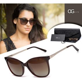 Oculos De Sol Feminino Grife Og - Óculos no Mercado Livre Brasil 7b7b301c60