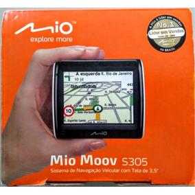 Gps Mio Moov Spirit S305 Tela 3,5 Barato Funcionando Bem