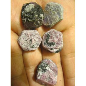 3 Mineral Rubi Como Salieron De La Tierra Amuleto Dije Oro