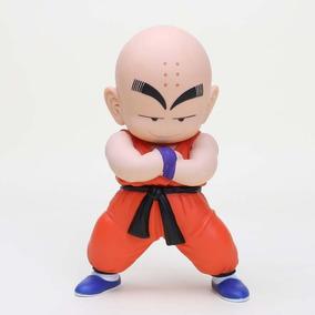 Boneco 20 Cm Krillin Kuririn Dragon Ball Z Figura De Ação
