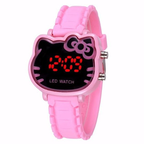Reloj Digital Hello Kitty Rosa