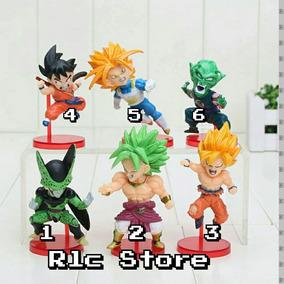 Dragon Ball Z Miniatura Coleção Goku Broly Piccolo Trunks