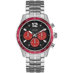 Relógio Masculino Guess Prateado Cronógrafo 92644g0gsna5