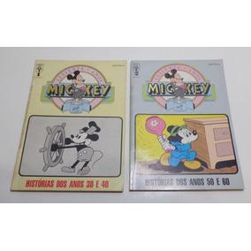 2 Revistas Mickey 60 Anos. No. 1 E 2. 1988. Bom Estado.