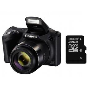 Cámara Canon Powershot Sx420 Zoom 42x Wifi + 32gb Mexx 2