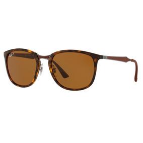 Rayban Rb4118 710 51 Marron Polarizado De Sol Ray Ban - Óculos no ... 1f19dbd317