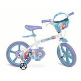 Bicicleta Aro 14 Para Meninas Frozen 2498