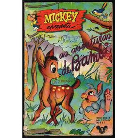Revista Mickey Walt Disney N. 07 1953 Ed.abril