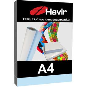 Papel Havir Transfer Sublimático 500fls A4 Fundo Azul