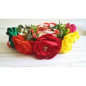 Corona De Flores Revolución Mexicana Frida Kahlo Fiestas Mex