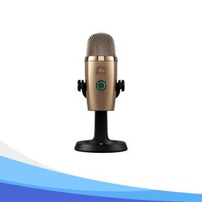 Microfono Yeti Nano Dorado Usb Multipatron Condenser - Tiend