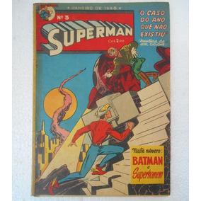 Superman Nº 3 Ebal 1948 - Original Ótimo