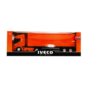 Juguete Para Niños Camion Iveco Contenedor Usual Brinquedos