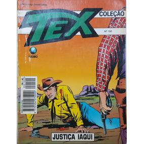 Hq Tex Coleção 102 Globo: Justiça Iaqui / 100pg 1995 (a) E06