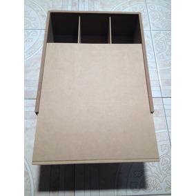 Caja 3 Vinos Mdf Ksj1