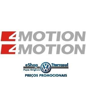 Logotipo/adesivo Lateral 4motion Vermelho/preto Amarok 17/