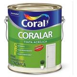 Tinta Latex Acrilico Coral Coralar 3,6 Litros Branca