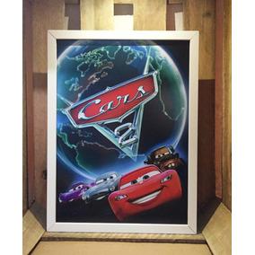Poster Carros 2 Pixar Quadro Decorativo Infantil