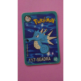 Card Pokemon Seadra 40 Tazo Agua Bom Estado