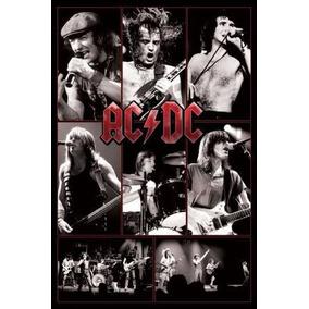Poster Ac Dc- Oficial Licenciado-medida 91.50cm X 61.50 Cm