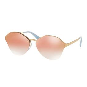 Prada Pr 64ts - Óculos De Sol Svf 5t0 Dourado Brilho  Lilás. São Paulo ·  Óculos De Sol Prada Pr64ts 7oead2 a1642ae8b2
