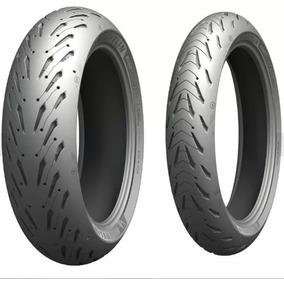 Par Pneu Fazer 600 Michelin Road5 190/50-17 + 120/70-17