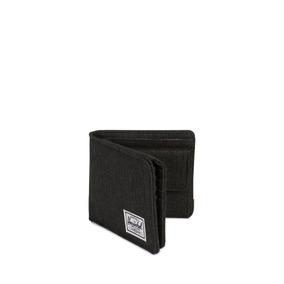 Billetera Herschel Supply Hans Coin Xl Rfid Black Crosshatch