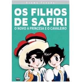 Os Filhos De Safiri De Osamu Tezuka Ed. New Pop