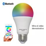 Lampara Led Smart Rgb E27 10w Bluetooth Celular App Oferta