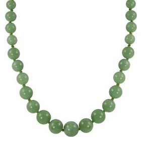 Gems For You Graduado Collar De Cuentas De Jade