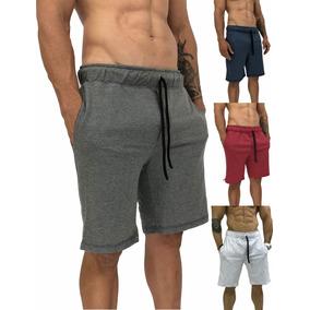 4 Bermuda Moletom Moleton Shorts Bermudas Swag Shortes Short