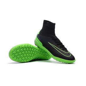 b23b6c0fa3 Chuteira Nike Mercurialx Verde Adultos - Chuteiras no Mercado Livre ...