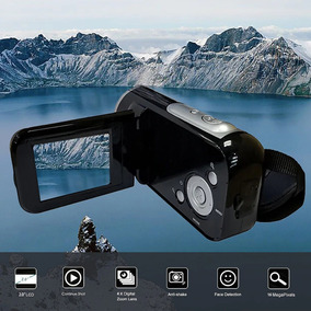 Câmera Filmadora Foto Vídeo Full Hd Digital Portátil 16mp 4x