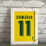 ee32a62a62 Camisa Romario Seleção Brasileira no Mercado Livre Brasil