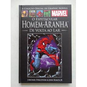 Coleção Oficial De Graphic Novels Nº 21! Homem Aranha!