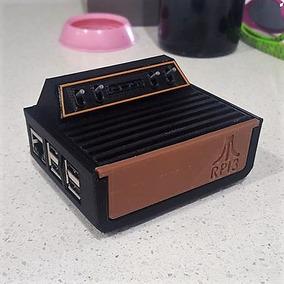 Case Para Raspberry Pi 3 Modelo Atari 2600 Rpi3