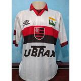 Camisa Flamengo Umbro 1997 - Futebol no Mercado Livre Brasil 3821fa721495c