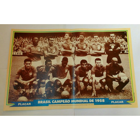 Pôster Do Brasil Campeão Copa 1958