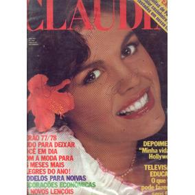 Revista Claudia 1977..moda.decoração.viagem.beleza.e Outros.