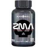 Zma (testosterone Booster) 120 Capsulas - Black Skull