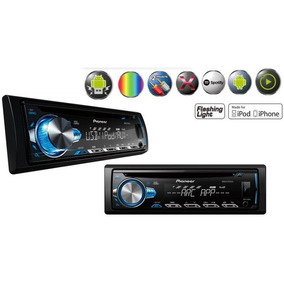 Cd Player Pioneer Deh-x10br Mixtrax Usb Aux
