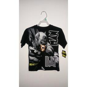 Playeras Para Niño Batman Dc Comics