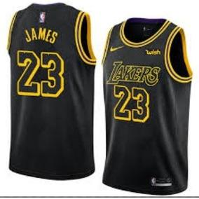 Nba Lebron James Los Angeles Lakers Pronta Entrega Preta. R  129 89 78865697fe6