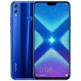 Celular Huawei Honor 8x 4gb 64gb Azul - Pelicula Instalada