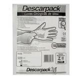 Luva Cirúrgica Estéril Descarpack - Número 6,5 Kit 10 Pares